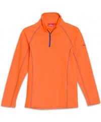 Rossi Jungen Kinder Ski-Rolli aus Power Stretch figurnah orange