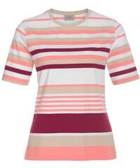 Michèle Boyard Damen T-Shirt Rundhalsausschnitt rot aus Baumwolle
