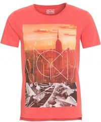 Tantum O.N. Herren T-Shirt körperbetont orange aus Baumwolle