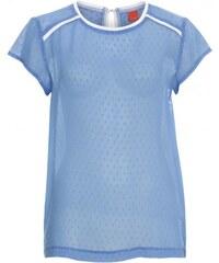 Livre Damen T-Shirt körperbetont blau