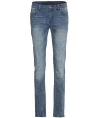 COOL CODE Damen Jeans Hose gerades Bein blau aus Baumwolle