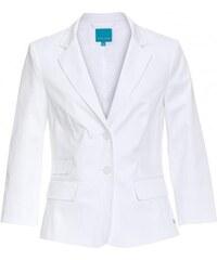 COOL CODE Damen Blazer figurnah weiß aus Baumwolle