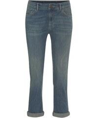 COOL CODE Damen Jeans Hose Slim schmal blau aus Baumwolle
