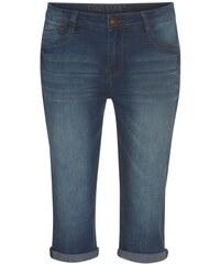 COOL CODE Damen Jeans Hose kniebedeckt blau aus Baumwolle
