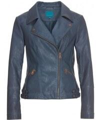 COOL CODE Damen Jacke figurnah blau