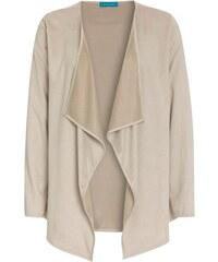 COOL CODE Damen Cardigan Strickjacke komfortabel beige