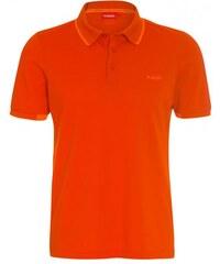 Vittorio Rossi Herren Poloshirt T-Shirt orange aus Baumwolle