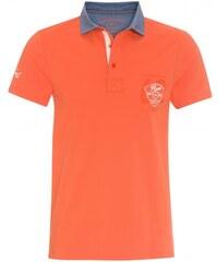 COOL CODE Herren Poloshirt T-Shirt körpernah orange aus Baumwolle