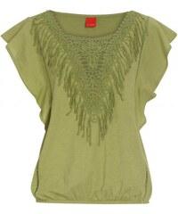 Livre Damen T-Shirt grün aus Baumwolle