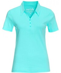Michèle Boyard Damen T-Shirt körpernah blau aus Baumwolle