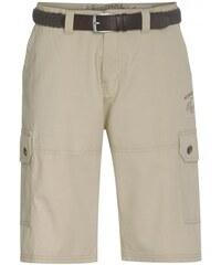 COOL CODE Herren Shorts Hose kniefrei beige aus Baumwolle