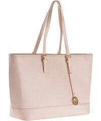 COOL CODE Damen Shopper Handtasche braun aus Kunstleder