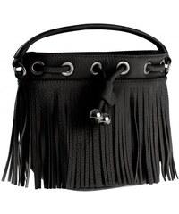 Livre Damen Handtasche Tasche schwarz aus Kunstleder