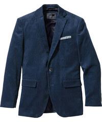 bpc selection Veste de costume en velours côtelé Regular Fit, N. bleu manches longues homme - bonprix