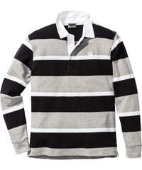 bpc selection Polo manches longues Regular Fit noir homme - bonprix