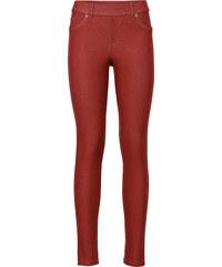 RAINBOW Legging aspect jean rouge femme - bonprix