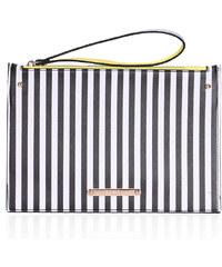 Psaníčko LYDC London Stripe Sensation Zipper