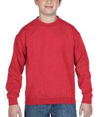 Lesara Kinder-Pullover mit Rundhalsausschnitt - Rot - S