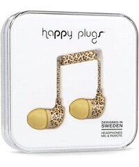 Sluchátka Happy Plugs In-Ear leopard