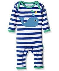 Toby Tiger Baby-Jungen Spieler Whale Applique Sleepsuit