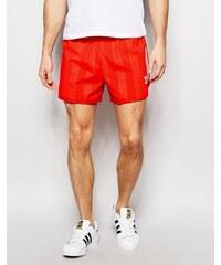 Adidas Originals - AJ6934 - Short rétro - Rouge