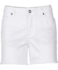 RAINBOW Twill-Shorts in weiß für Damen von bonprix