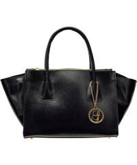 Glamorous by Glam Kožená kabelka černá z leštěné kůže