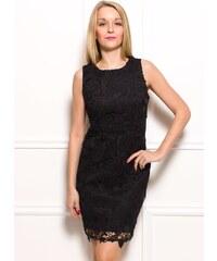 Glamorous by Glam Dámské šaty z krajky - černé
