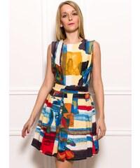 Glamorous by Glam Dámské elegantní barevné šaty