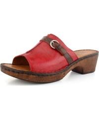 Josef Seibel pantofle červené