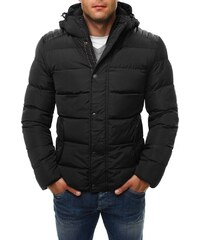 Zimní černá pánská bunda 3021