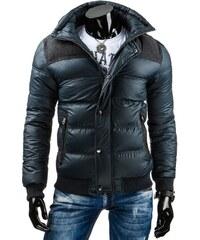 Pohodlná černá zimní bunda (tx1070)