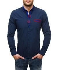 Elegantní granátová košile Raw Lucci 586