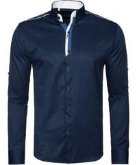 Výrazná tmavě modrá košile 2228