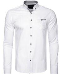 Elegantní pánská bílá košile 1956