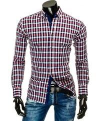 Kostkovaná košile v moderním designu
