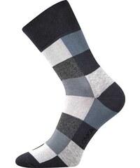 Lonka kostkované ponožky Decube šedé