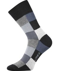 Lonka kostkované ponožky Decube černé