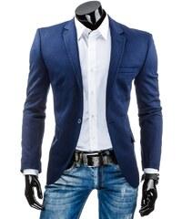 Tmavě modré pánské sako (mx0204)