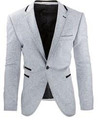 Šedé elegantní pánské sako