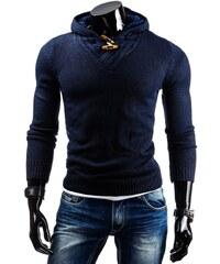 Stylový pánský svetr modrý