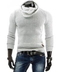 Bílý teplý svetr pro pány