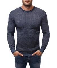 Modrý pánský svetr se vzorem BRUNO LEONI 260