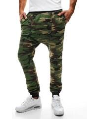 Maskáčové teplákové kalhoty MADMEXT 1144