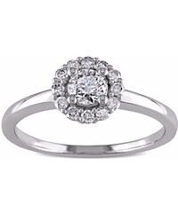 KLENOTA Diamantový zásnubní prsten