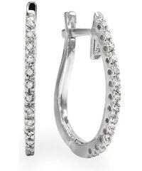 KLENOTA Diamantové náušnice ve zlatě