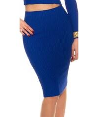Koucla Úpletová elegantní sukně