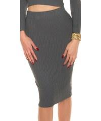 Koucla Dámské úpletové sukně