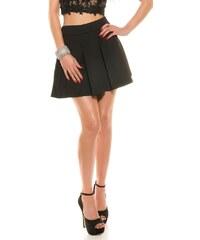 Koucla Černá dámská sukně