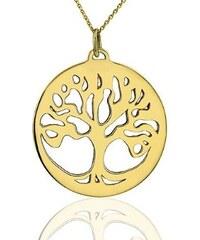 KLENOTA Zlatý přívěsek Strom života